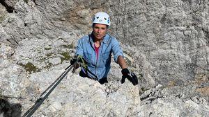"""""""Panikmoment"""": Michelle Hunziker verblüfft als Bergsteigerin"""