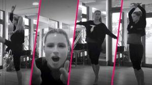 Michelle Hunziker tanzt – Collage