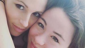 Michelle Hunziker mit Tochter Aurora im November 2016
