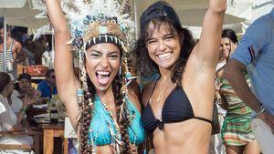 Topfit: Michelle Rodriguez hat Energie für zwei!
