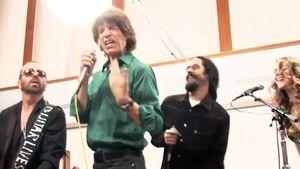 Mick Jagger und Joss Stone