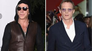 Mickey Rourke und Paul Bettany