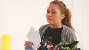 Sportlich: Miley Cyrus kommt vom Tanz-Unterricht