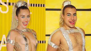 Miley Cyrus und Mina Gerges