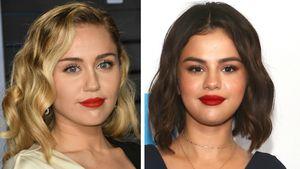 """Nach """"Hässlich""""-Kommentar: Miley Cyrus verteidigt Sel Gomez!"""