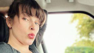 So viel hat Milla Jovovich in der Schwangerschaft zugenommen