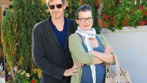 Schön schwanger: So glücklich ist Milla Jovovich