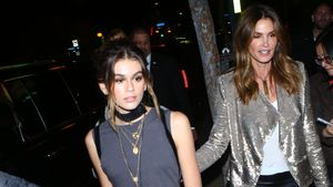 Model Kaia Gerber und Mutter Cindy Crawford