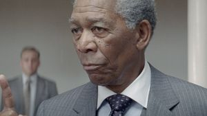 Ups! Mandela-Gedenkplakat zeigt Morgan Freeman
