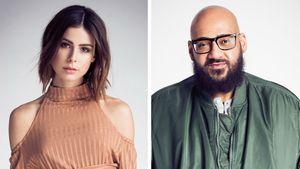 Moses Pelham mit Lena im Studio: Soll sie Deutsch singen?