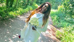 Zeigt Motsi Mabuse hier zum 1. Mal ihr anderes Brautkleid?