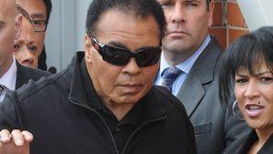 Genesen: Muhammad Ali feiert Geburtstag zu Hause