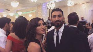 Mustafa Alin zeigt seine Schwester