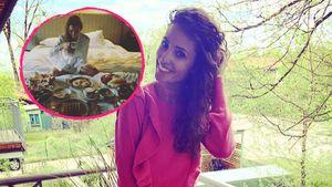 Nach Mager-Kritik: Nadine Menz gönnt sich richtiges Festmahl