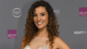 Nadine Menz bei der Verleihung des Gloria Kosmetikpreises 2017