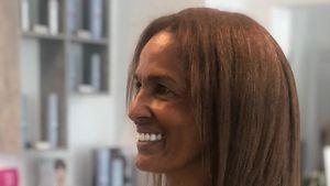 Bye-bye, Locken: Nadja Abd el Farrag hat eine neue Frisur