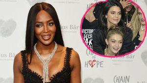 Naomi Campbell, Kendall Jenner und Gigi Hadid