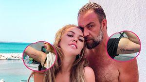 Besondere Bedeutung: Liebestattoos für Natalia und Jiorgos!