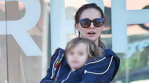 Stylishes Duo: Natalie Portman geht mit Töchterchen shoppen