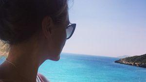 Nazan Eckes in Griechenland