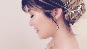 Zauberhaft! Nela Lee zeigt ihre Brautfrisur