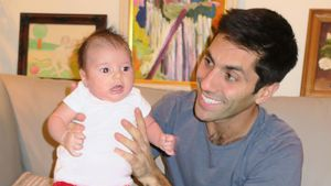 Nev Schulman mit seiner Tochter Cleo James