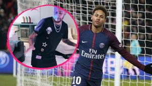 Spaß trotz Verletzung: Hier tanzt Neymar Jr. mitsamt Gips!