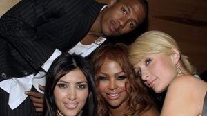 Nick Cannon, Kim Kardashian, Lil'Kim und Paris Hilton