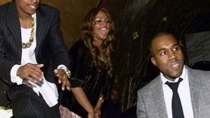 Nick Cannon, Lil Kim und Kanye West