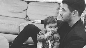 Putzig: Nick Jonas ganz verschmust mit seiner kleinen Nichte