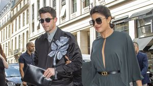 So stylish turteln Nick Jonas und seine Priyanka in Paris