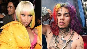 Nach Verhaftung: Nicki Minaj steht Rapper 6ix9ine bei!