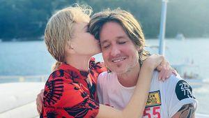 Süß! Hier knutscht Nicole Kidman ihren Mann Keith Urban
