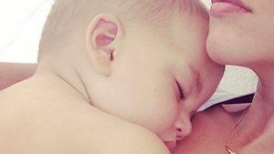 Mama-Glück: So friedlich schläft PLL-Tammins Baby