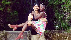 Nikeata Thompson und ihr Ex-Freund in Portugal