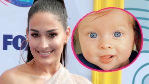 Strahlend blaue Augen: Nikki Bellas Baby verzaubert Fans!