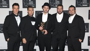 *NSYNC bei den MTV Video Music Awards in New York