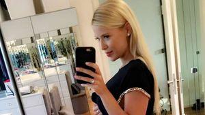 Oksana Kolenitchenko eine Woche nach der Geburt ihrer Tochter