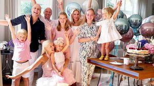 Oksanas Kolenitchenkos Tochter feiert Hello-Kitty-Geburtstag