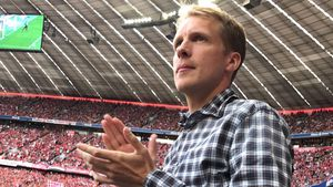 Oliver Pocher in der Allianz Arena München