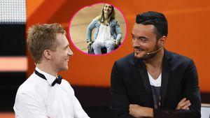 Oli Pocher & Giovanni erradeln Spenden für Kristina Vogel