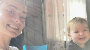 Süßes Baby-Pic: Olivia Wilde grinst mit Tochter um die Wette
