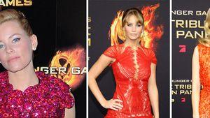 Die Tribute von Panem: Girls on Fire in Rot-Tönen