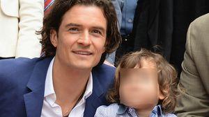 Für Sohn Flynn (8): Orlando Bloom stellte Karriere hinten an