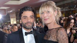 Oscar Isaac und Elvira Lind bei den Golden Globes 2016