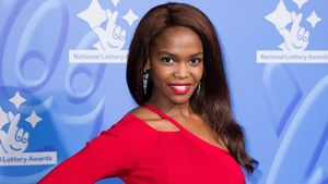 Oti Mabuse bei den National Lottery Awards 2016 in London