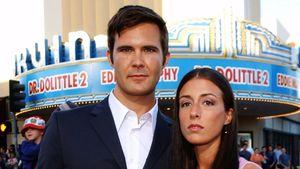 Oz Perkins mit seiner Frau Sidney im Jahr 2001