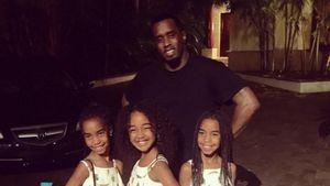 Familien-Clan: P. Diddy feiert mit seinen süßen Töchtern