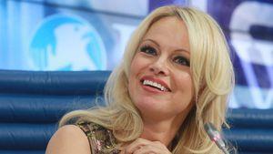 Pamela Anderson in Moskau Dezember 2016