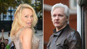 Pamela Anderson besuchte Julian Assange: Das FBI ermittelt!